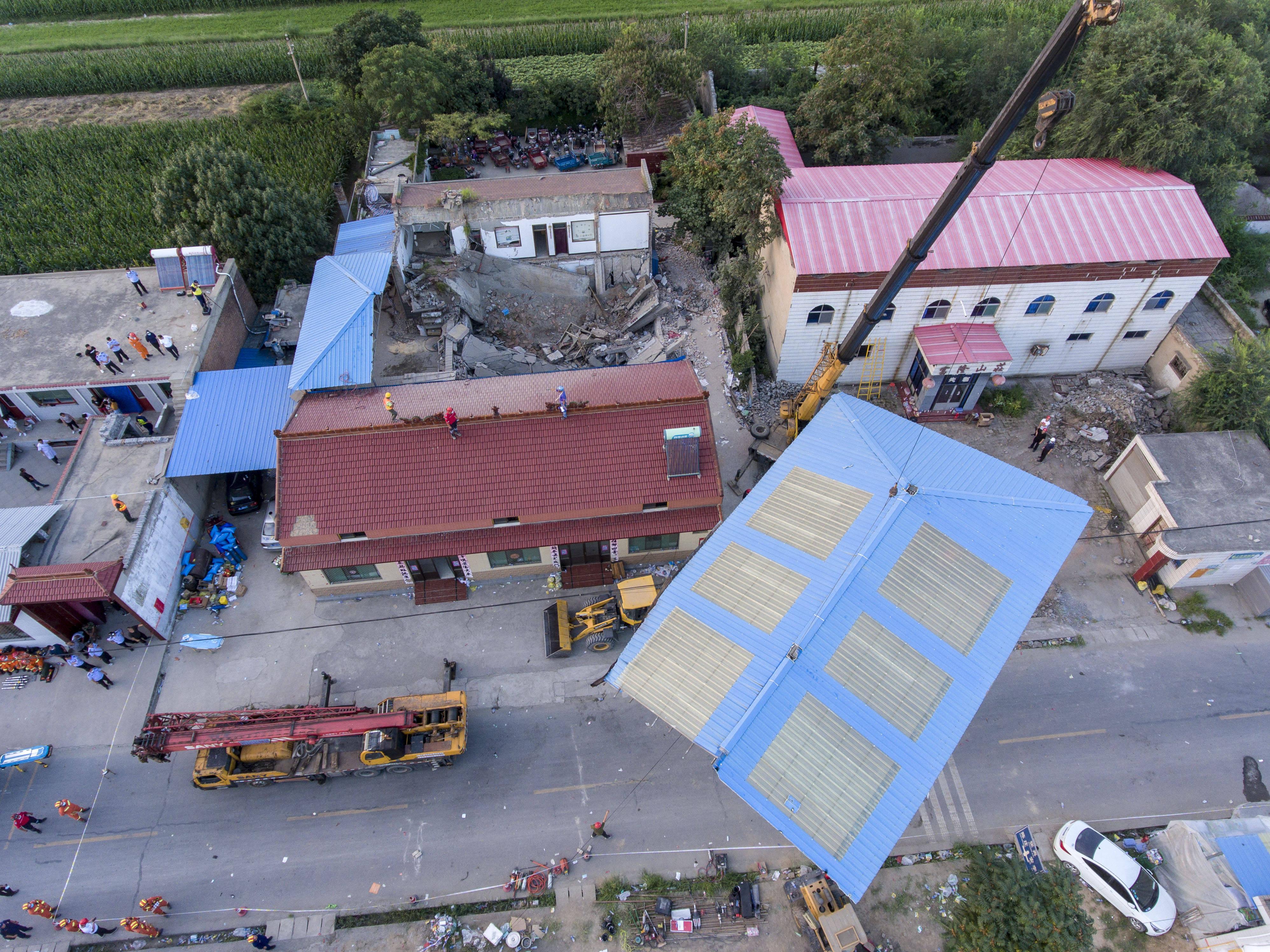 """山西省临汾市襄汾县""""8・29""""重大坍塌事故抢险救援结束 29人遇难"""