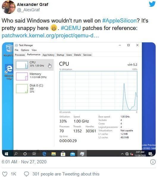 性能爆表缺软件 M1版MacBook真不能装Win10吗?的照片 - 5