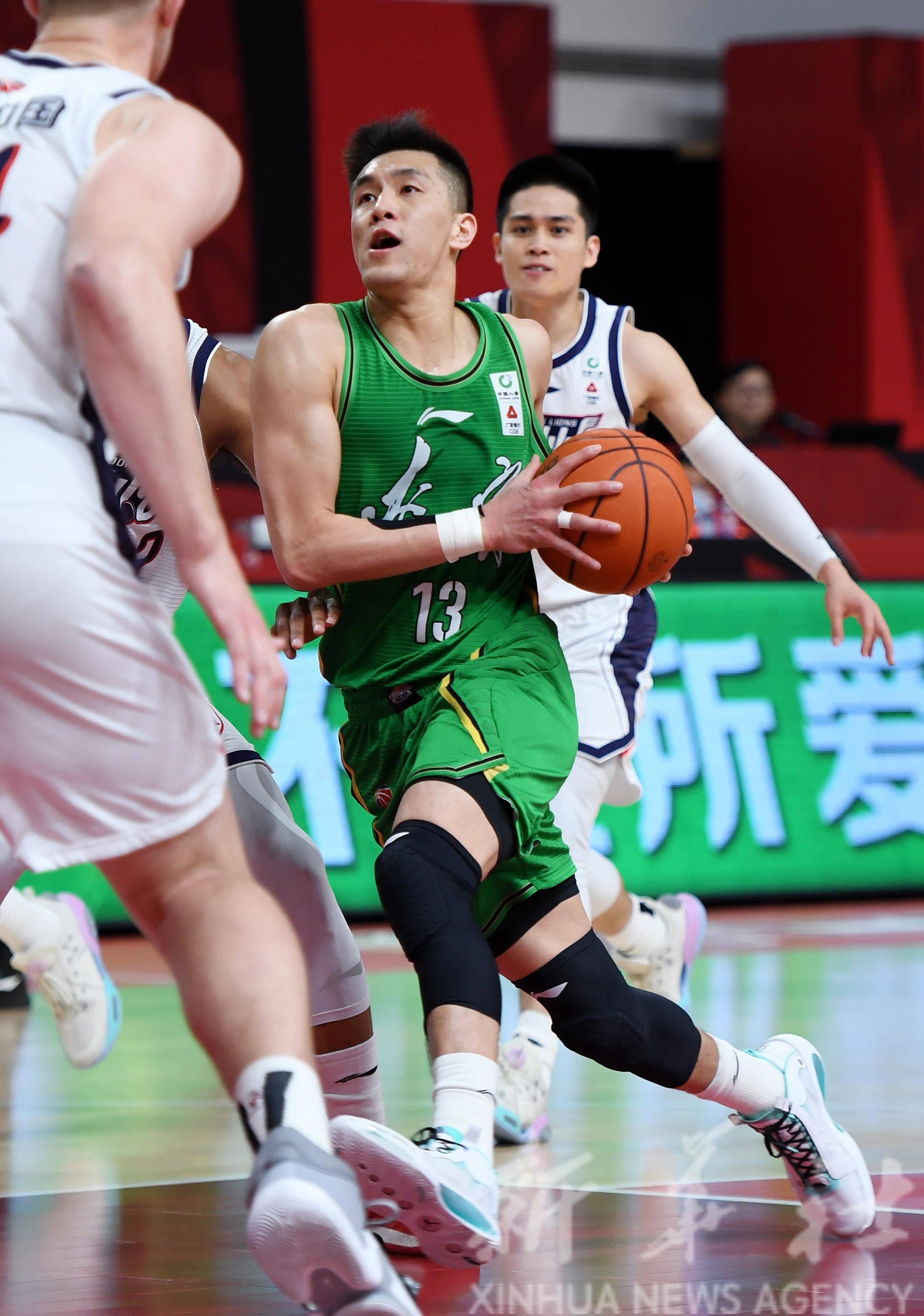 篮球——CBA第二阶段:辽宁本钢胜时代中国广州
