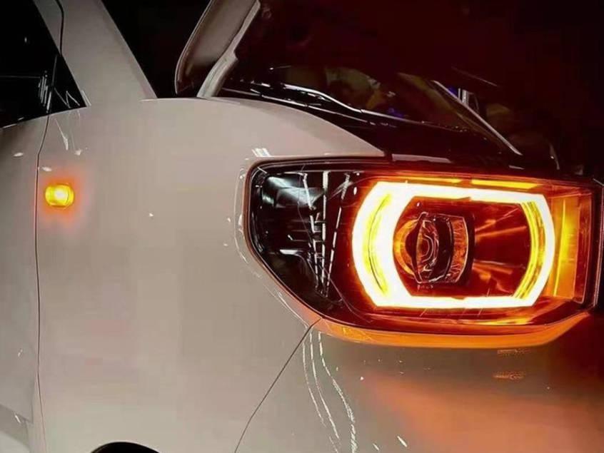 销量超过特斯拉的国电2021款五菱洪光MINI EV配置曝光