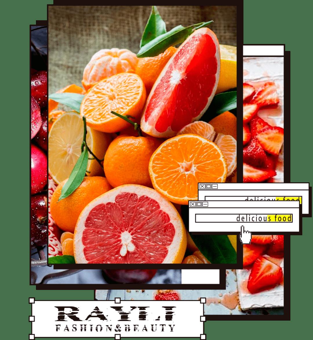 冬季精致女生行为奖励:吃水果