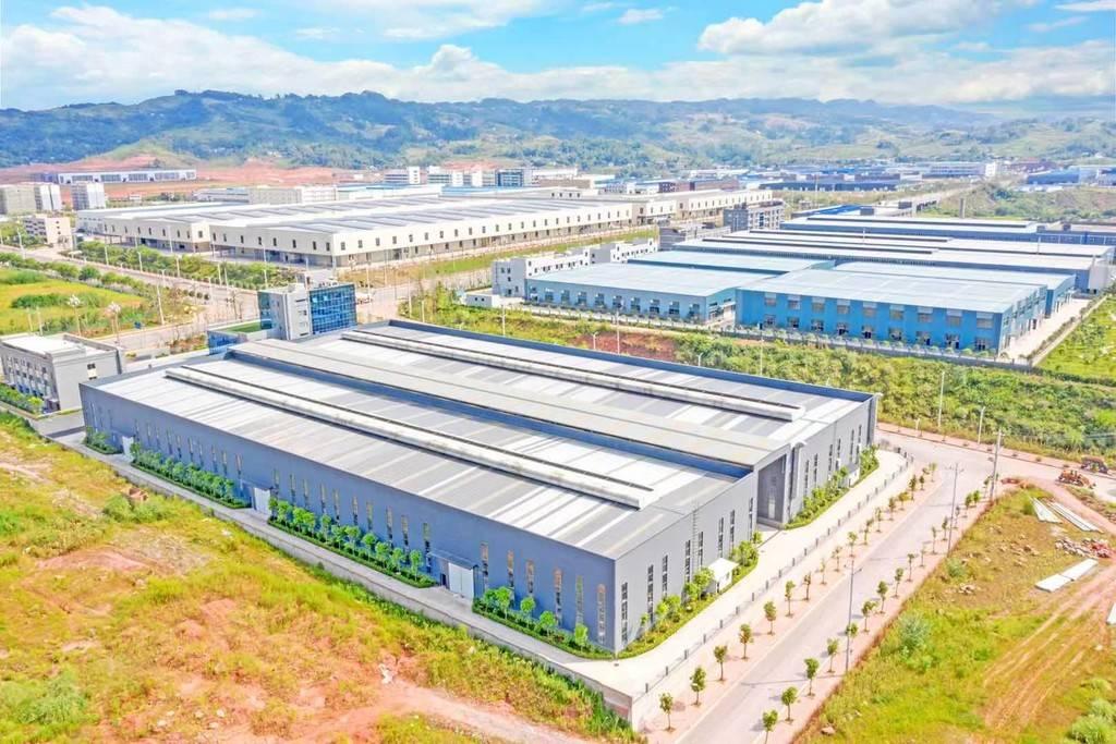成渝地区双城经济圈产业合作示范园调研行②▏40多天,这里为啥吸引了100多家企业?