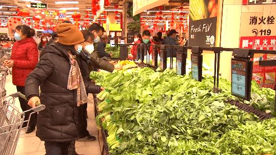石景山区各大商超积极调配蔬菜保供应
