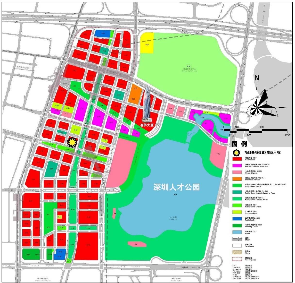 深圳人才公园旁,建面4万平!中海后海中心总部大厦要来了