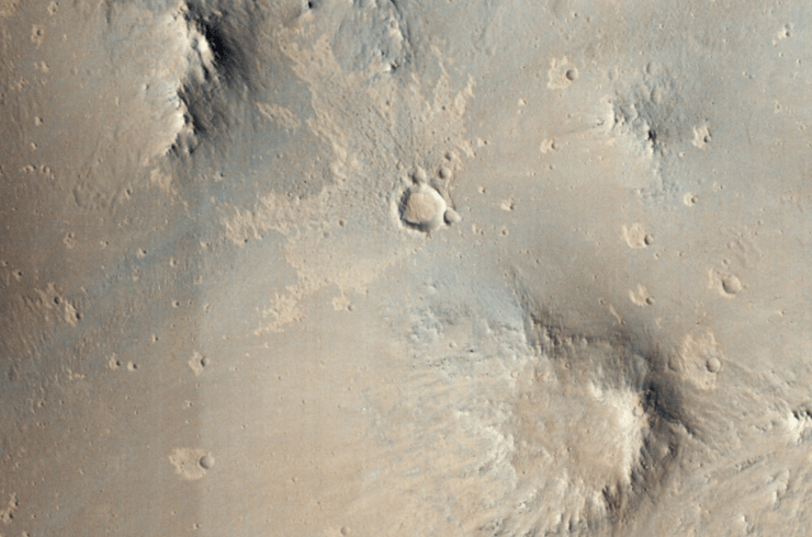 AI 算法加持,NASA 检测出近 70 个全新火星陨石坑