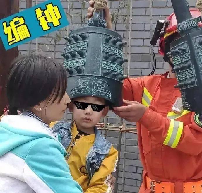 囡囡,别怕,消防叔叔在!
