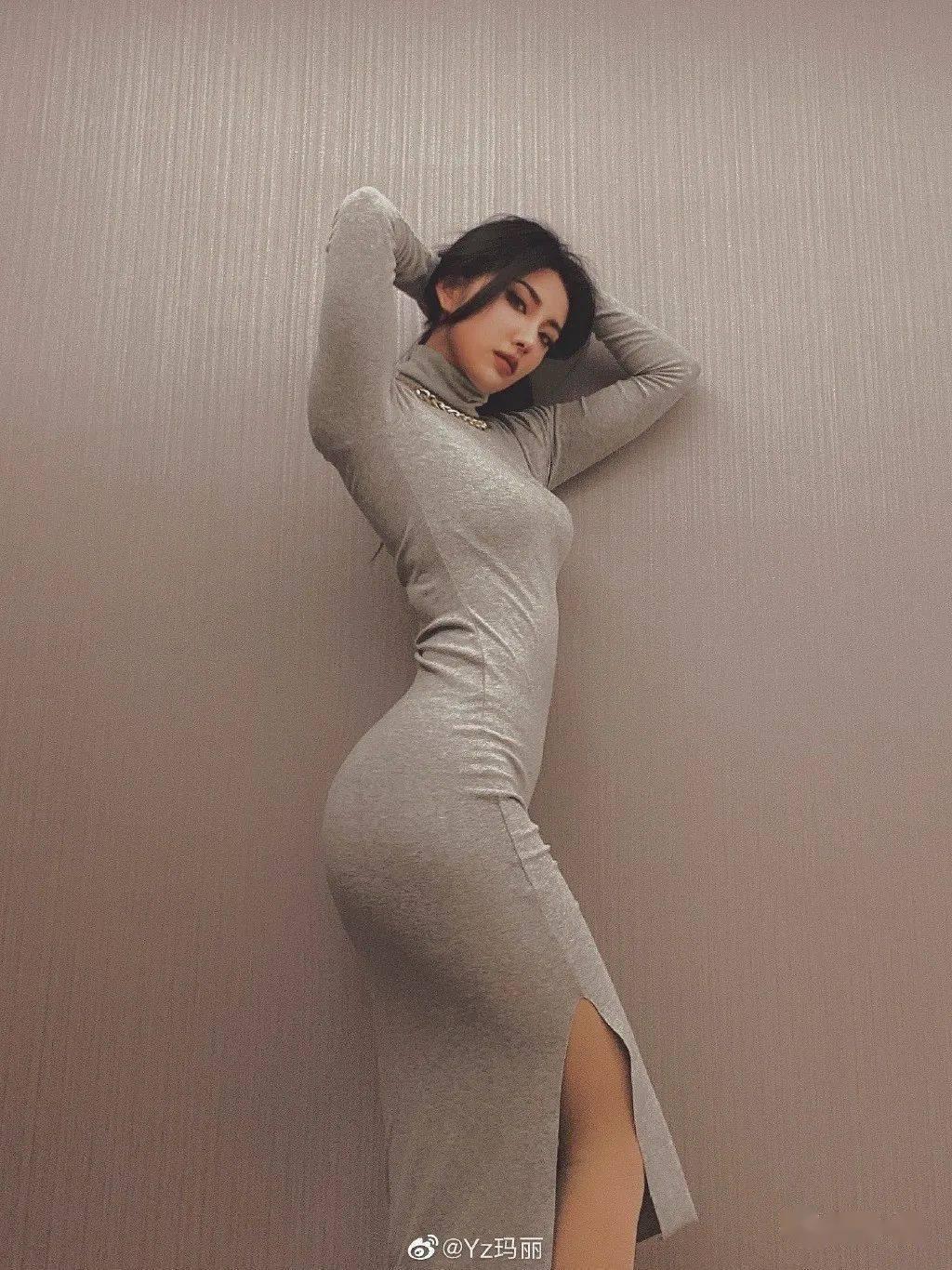 """斗牛牛小游戏:172cm杭州""""欧美风""""辣妹晒照,蚂蚁腰+大长腿,比例优秀的高个女生有多美?"""