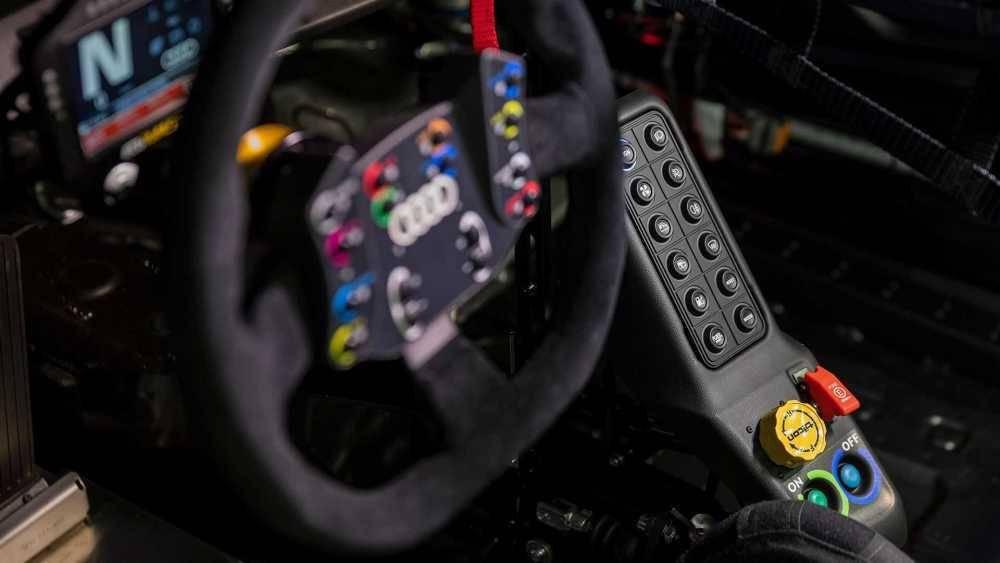 沿用EA888发动机 奥迪发布RS3 LMS赛车官图
