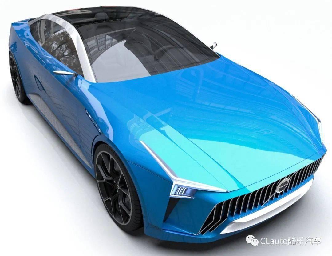 这是沃尔沃未来的跑车?