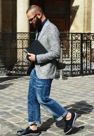 时尚又成熟的质感搭配!商务型男必学的正式休闲风 爸爸 第8张