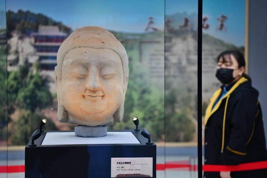 @在北京的山西人,春晚首次亮相的国宝天龙山石窟佛首,在这里可预约参观→  第10张