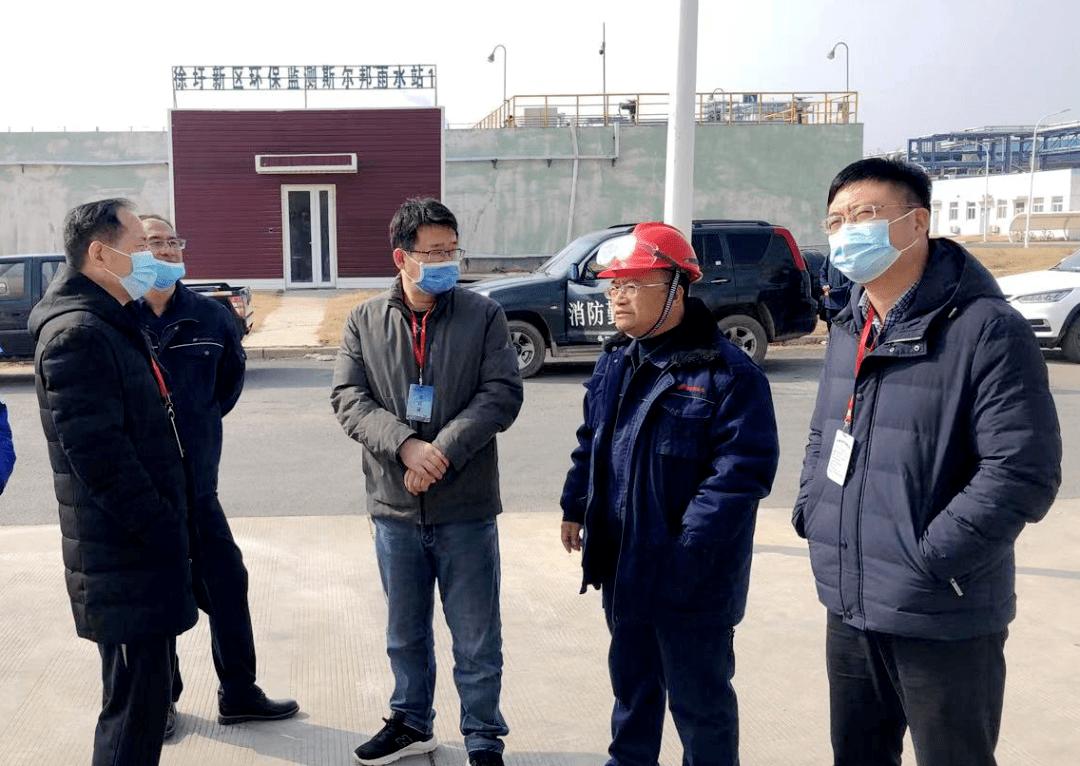 春节不打烊丨市生态环境局副局长葛延波带队检查徐圩新区石化企业环境安全工作