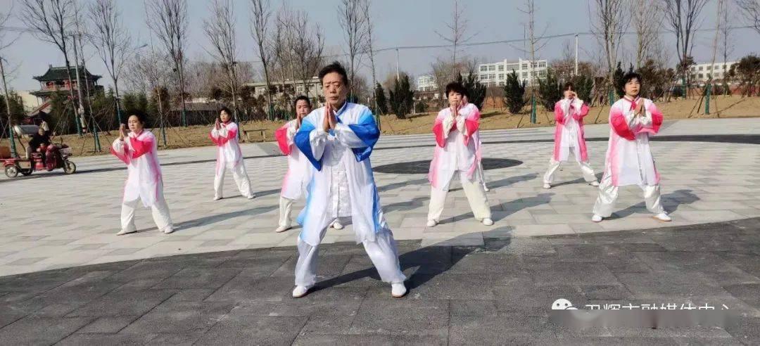庆新春,这里举办了一场健身运动联谊会!