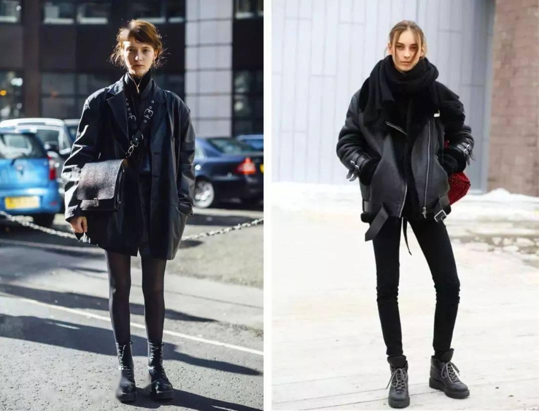 """""""爱穿黑色的女生,到底有多时髦?"""""""