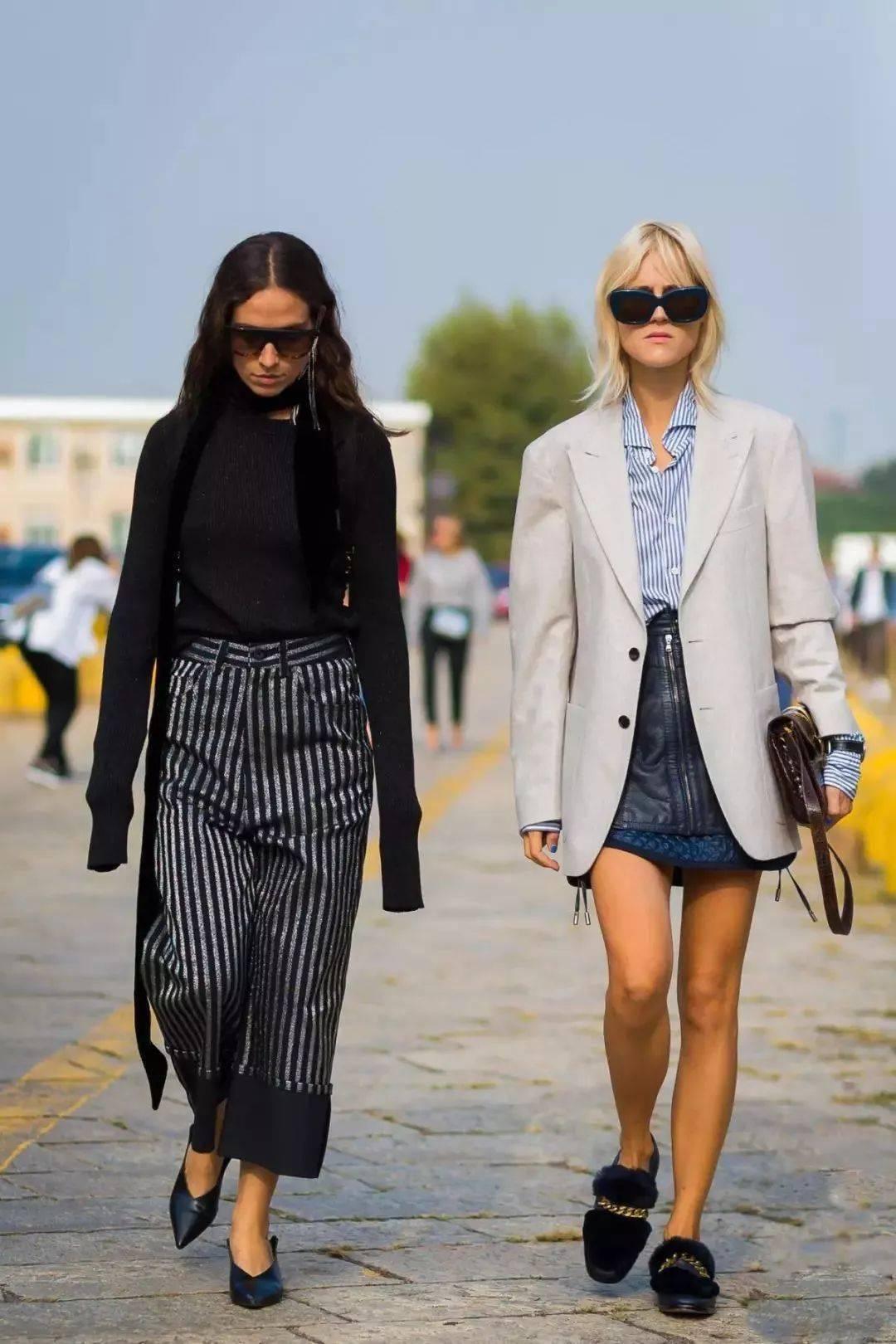 春天毫无张扬的高级,高腰裤穿搭!
