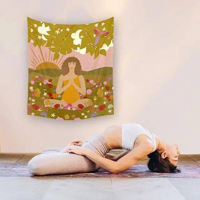 一套瑜伽序列打开腹股沟,缓解疼痛,远离妇科疾病!_核心