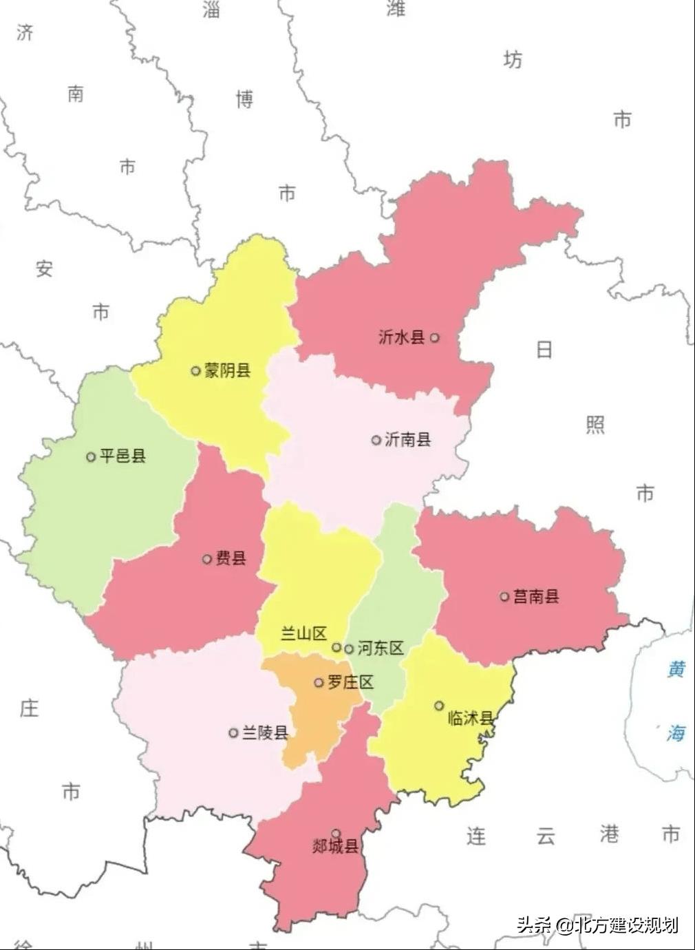 临沂各区县人口_临沂各区县人口一览:兰陵县110.44万,罗庄区67.93万