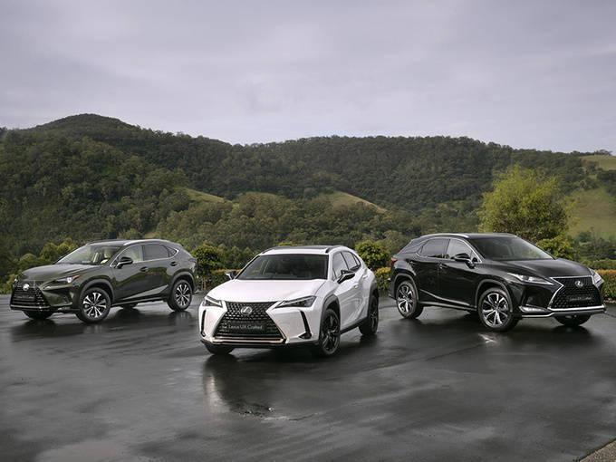 雷克萨斯推出三款带有黑色格栅/驾驶员辅助系统的新车型