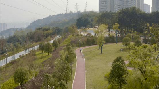 """67个坡坎崖""""换颜"""" ,两江新区打造山城""""挂毯""""式坡坎崖公园!"""