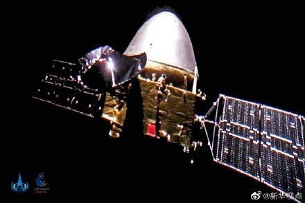 天问一号成功进入火星停泊轨道