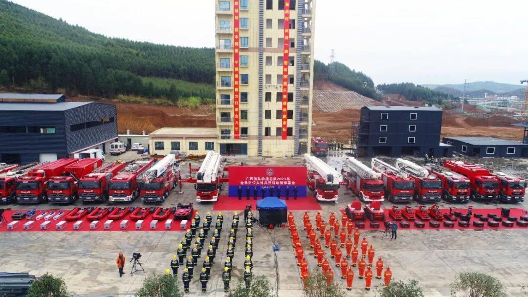 开训即开战——柳州消防全员练兵如火如荼