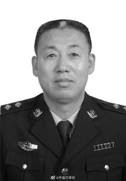 甘肃 年仅46岁!定西民警罗精忠因公殉职