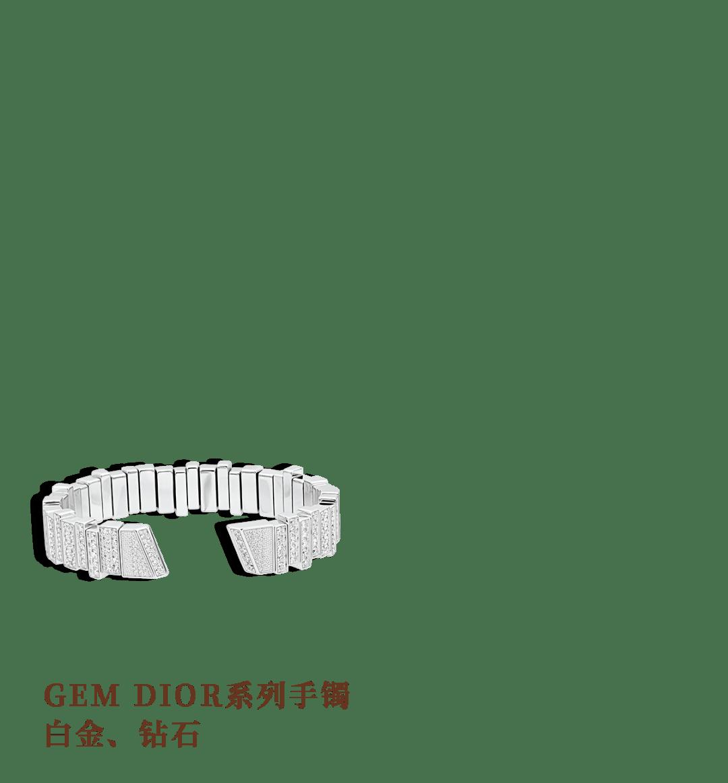 GEM DIOR 高级珠宝及腕表系列广告大片