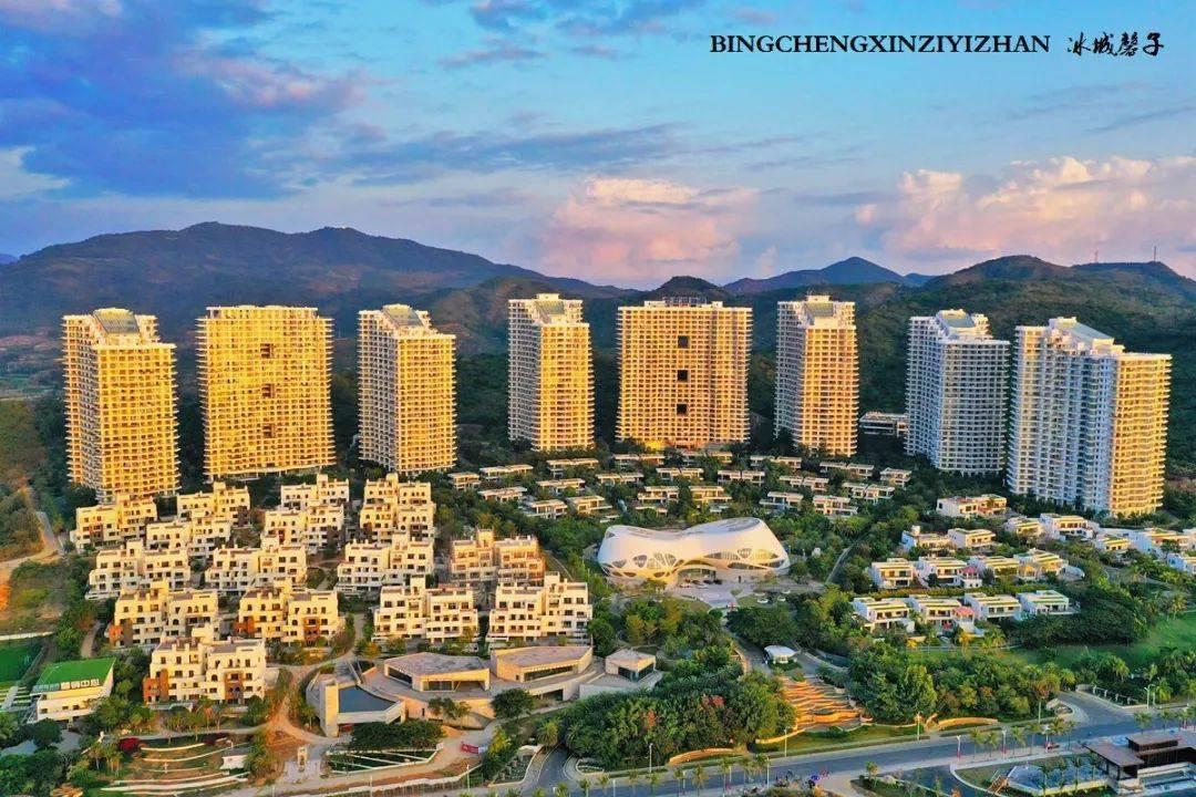 航拍海南乐东九所:美丽的旅居康养家园