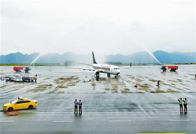 五星航空来渝!新加坡航空执飞
