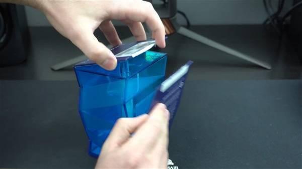 Intel 11代旗舰i9-11900K提前到手!波浪形包装盒吸睛的照片 - 10