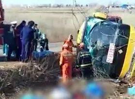 大客车侧翻至7死8伤!原因查清!
