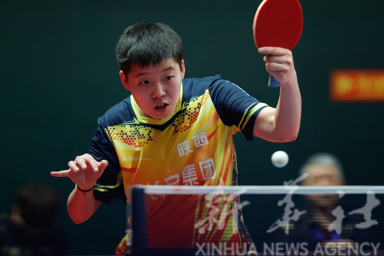 乒乓球——全运会资格赛女团:陕西队晋级决赛