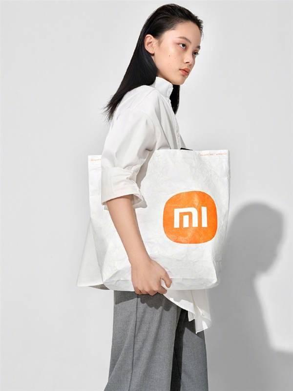 小米推出环保袋:首发新logo 售价29.9元的照片 - 5
