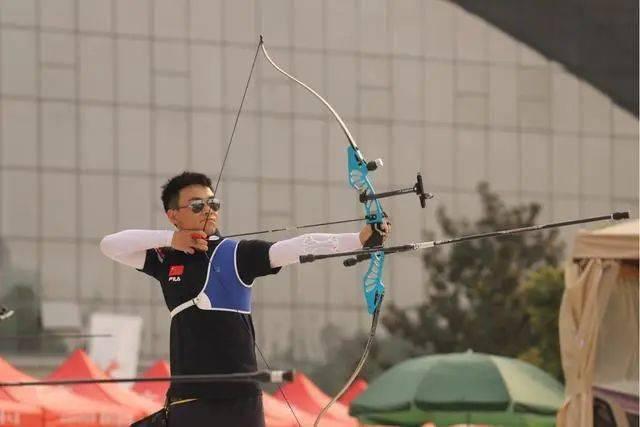 中国射箭队在成都竞逐东京奥运席位 四川老将任进科射下首冠