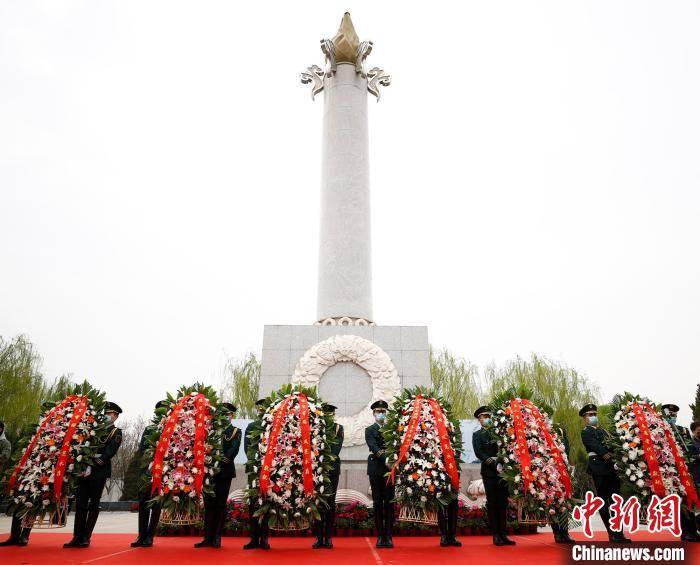北京市举行节约集约用地绿色生态葬清明节公祭主题活动