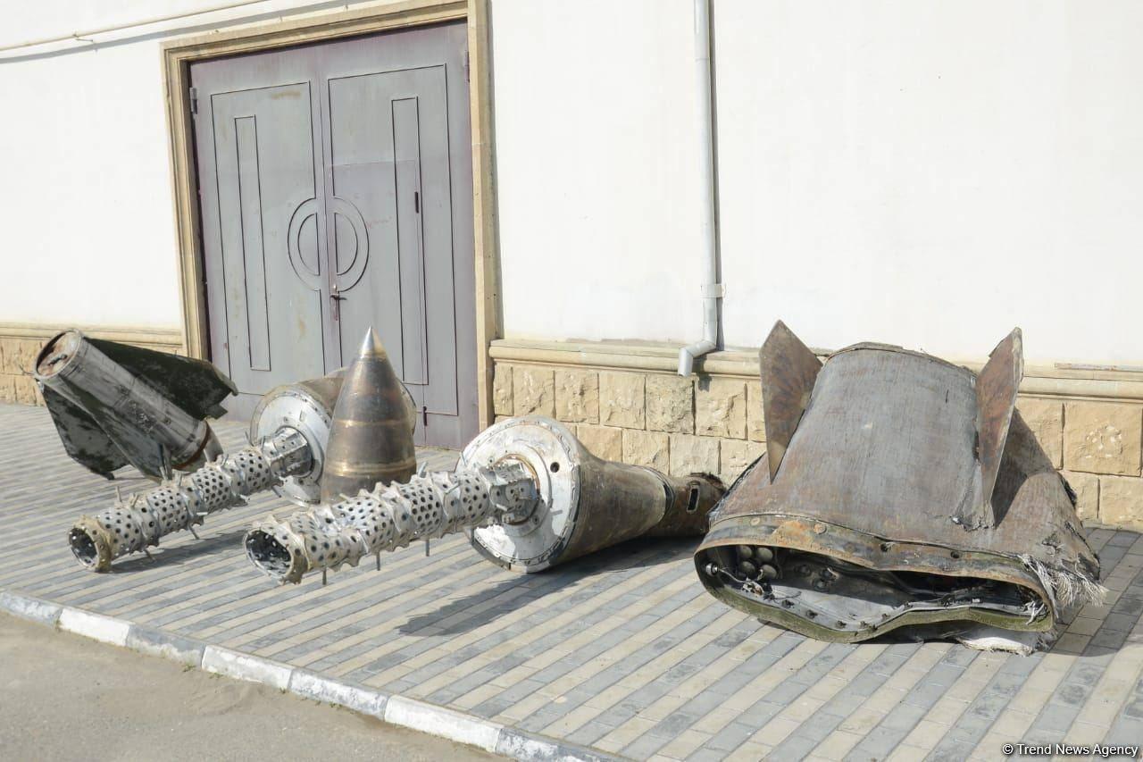 """俄媒:阿塞拜疆称在纳卡发现""""伊斯坎德尔""""导弹残骸"""