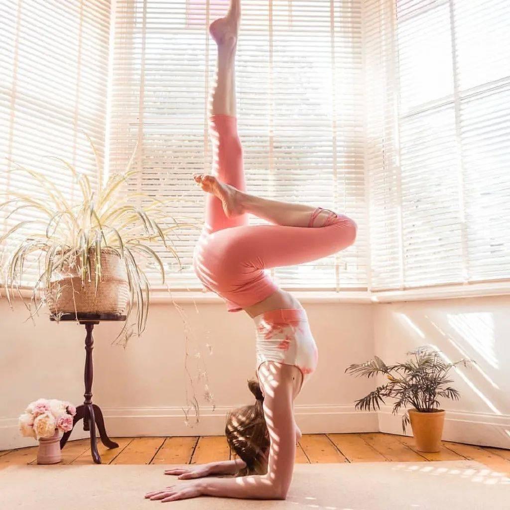 练瑜伽,不靠墙手肘倒立太难了?练完这套准备序列,你也可以!_核心