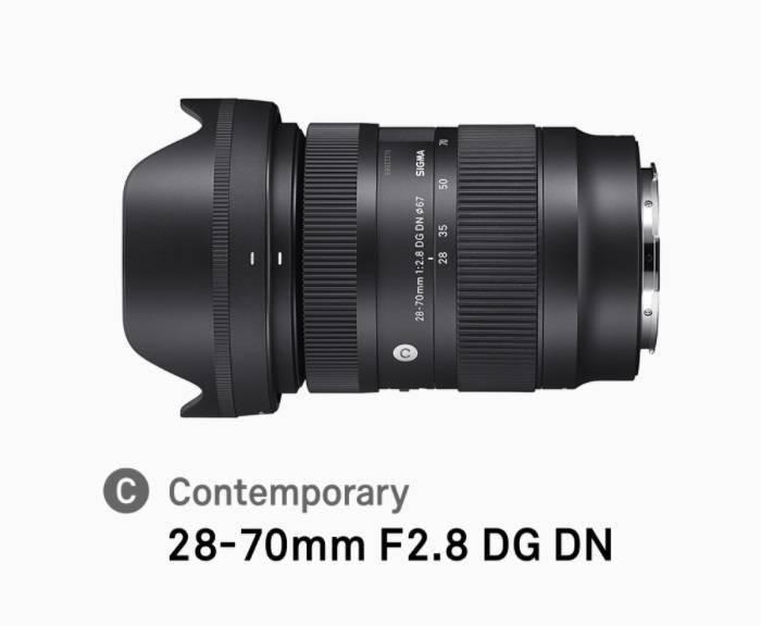 适马召回 28-70mm F2.8 DG DN 镜头,该镜头可提供 L 卡口、E 卡口
