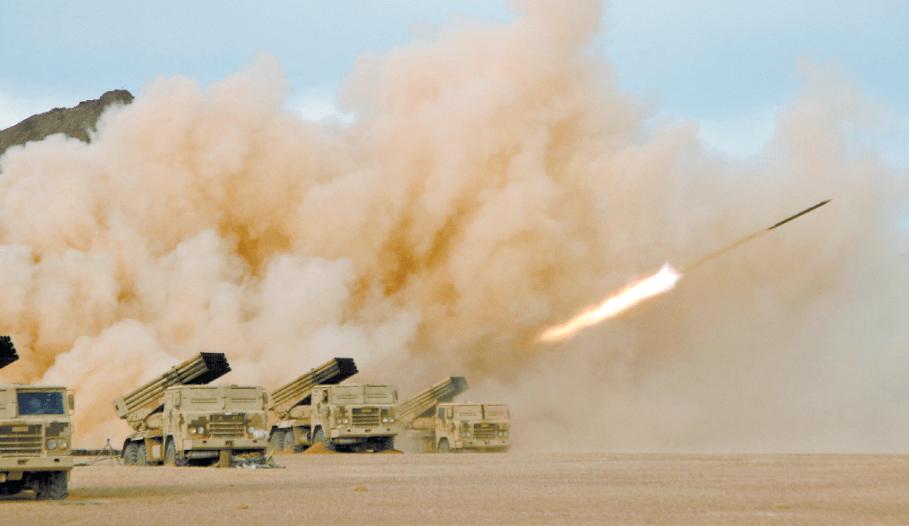 廉颇尚能饭!81式122毫米火箭炮高原射击:极限距离全命中