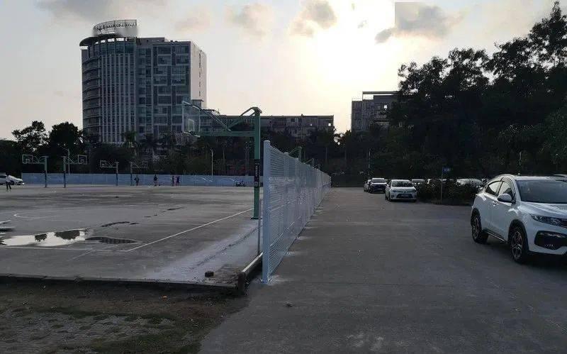 阳江市区体育馆露天篮球场升级改造,晚上7时后收费开放