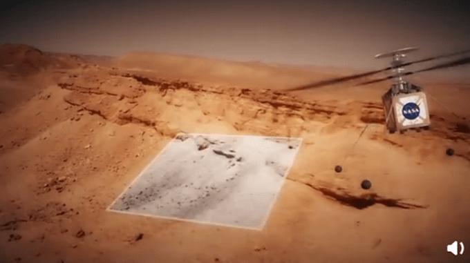 新华社快讯:美国火星直升机已完成首飞