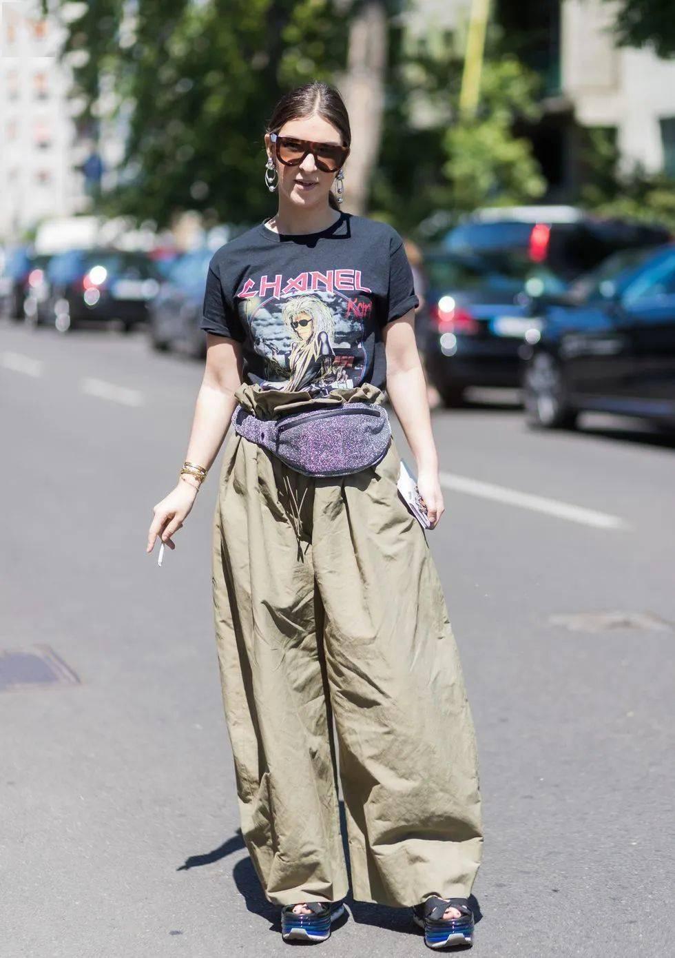这么多条裤子,阔腿裤还是最最最帅的!