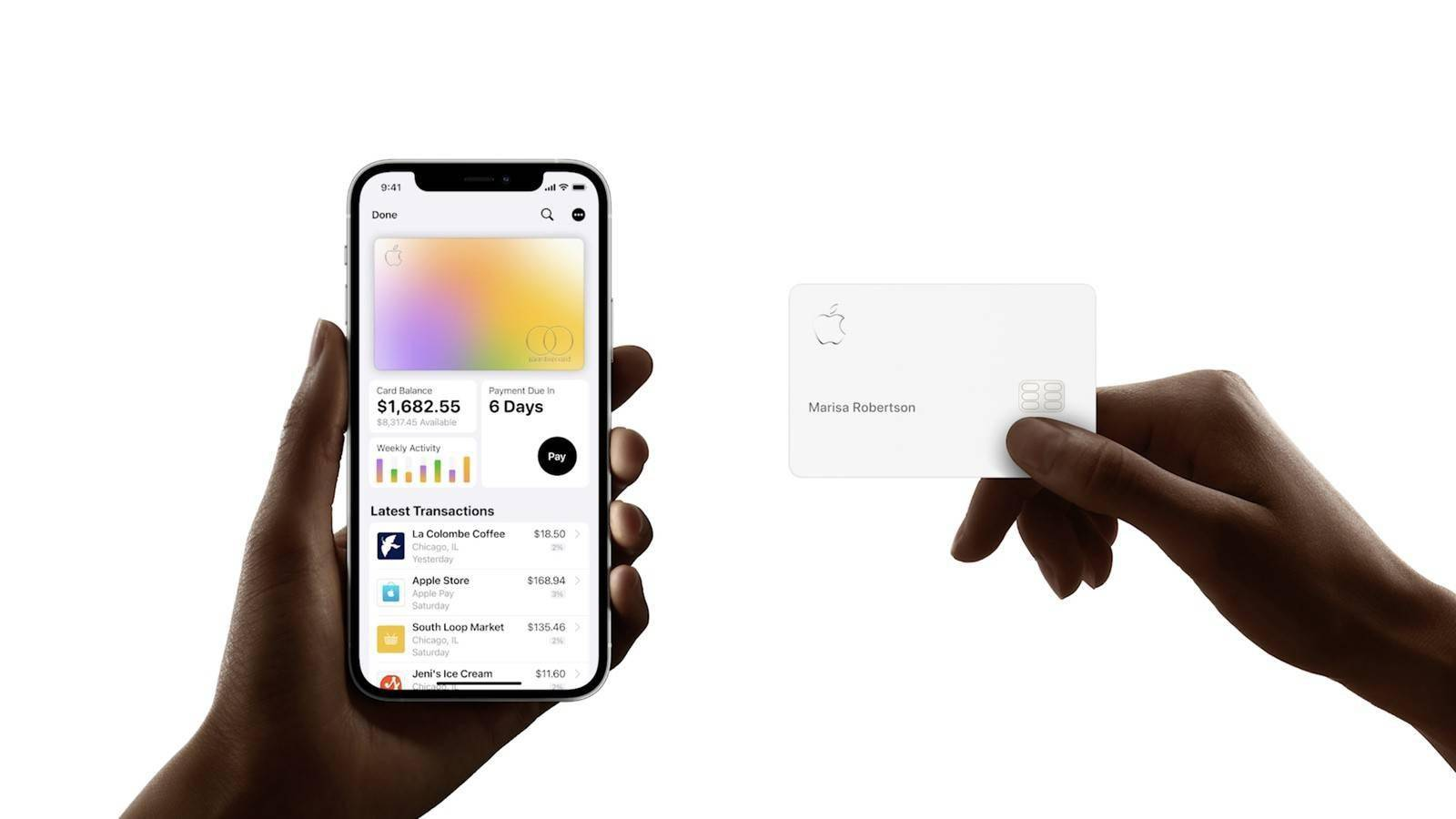 Apple Card服务更新:两口子可共享额度