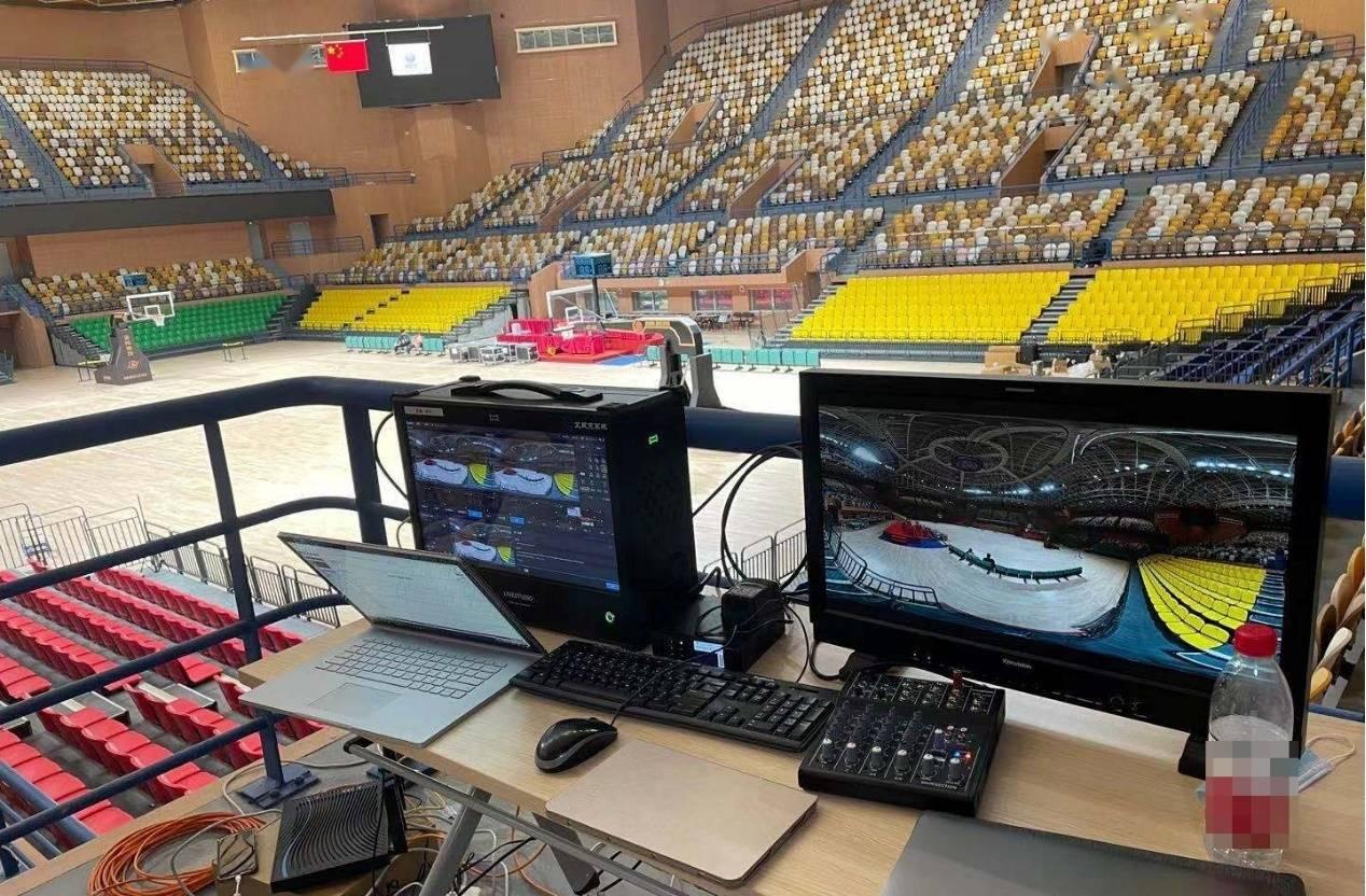 全民智慧观赛—5G+VR全景沉浸式云观十四运篮球赛事!
