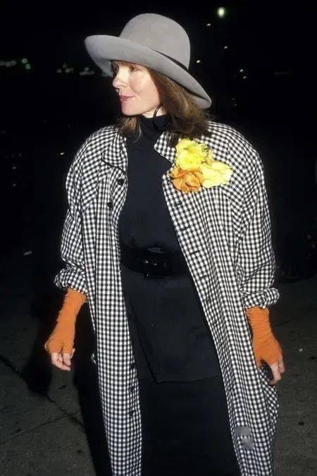 衣品||75岁还是最酷的女神 如何穿成戴安·基顿? 爸爸 第59张