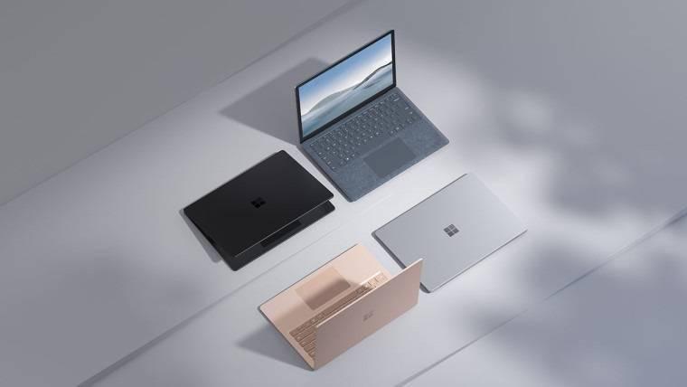 微软全新 Surface Laptop 4 正式开售