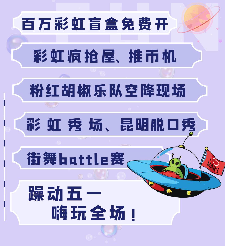 @大理人,走!五一去昆明俊发·新螺蛳湾,开百万盲盒,赢iPhone12去!
