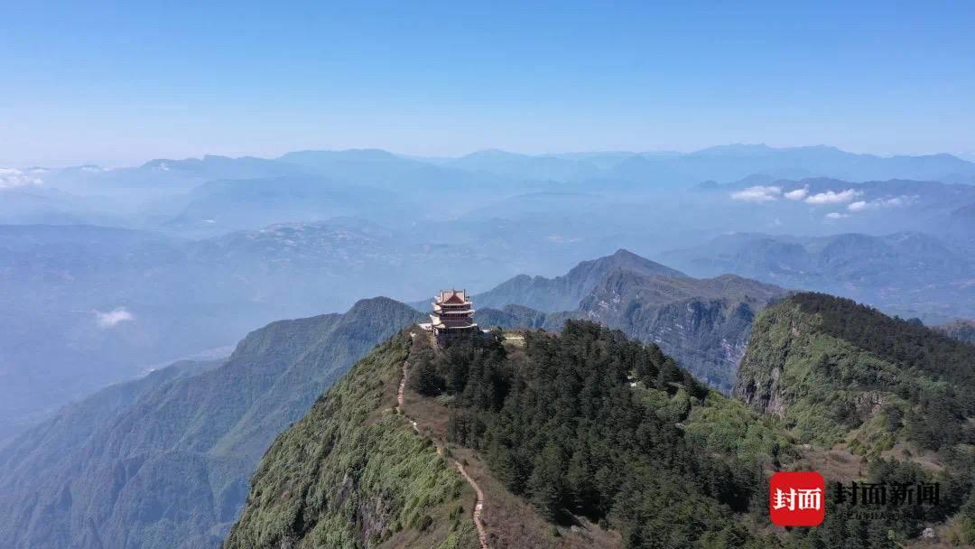 海拔3099米!四川峨眉山最高峰万佛顶5月27日起重新对外开放 日限2000人