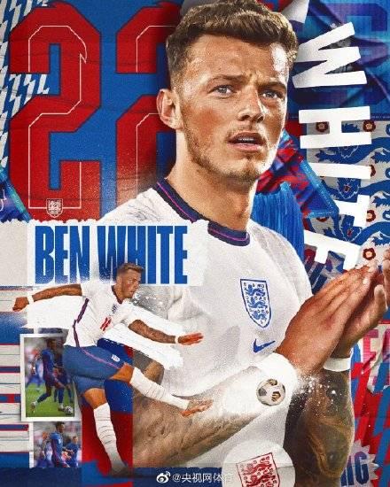 官方:本-怀特替补入选英格兰队