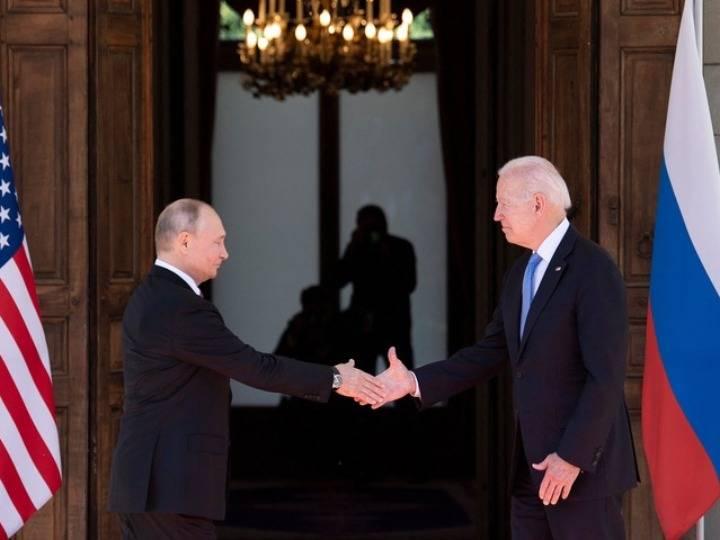 环球深壹度 | 普京和拜登握手了,乌克兰的委屈大了……